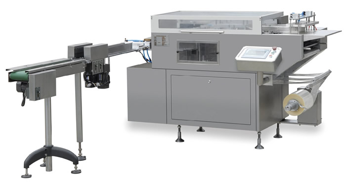 Automatic Cellophane Overwrapping Machine(Botton Sealing)
