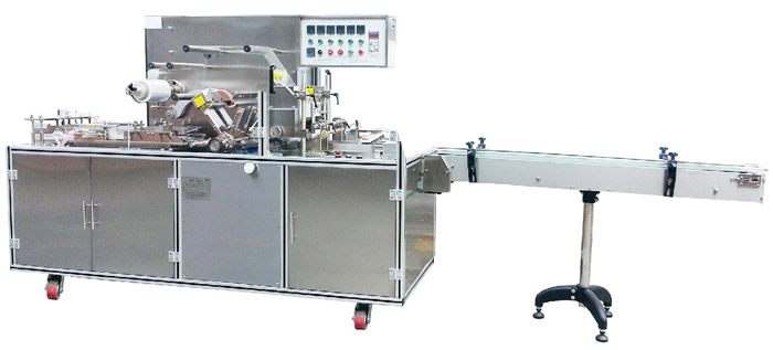 Automatic Cellophane Overwrapping Machine(Turret Type)